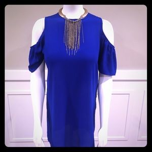 Dresses & Skirts - Cobalt Blue mini dress